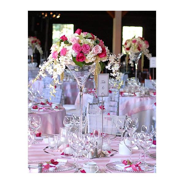 Vases martini location mariage - Centre de table en bonbon pour mariage ...