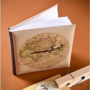 Le livre d'or mariage voyage vintage