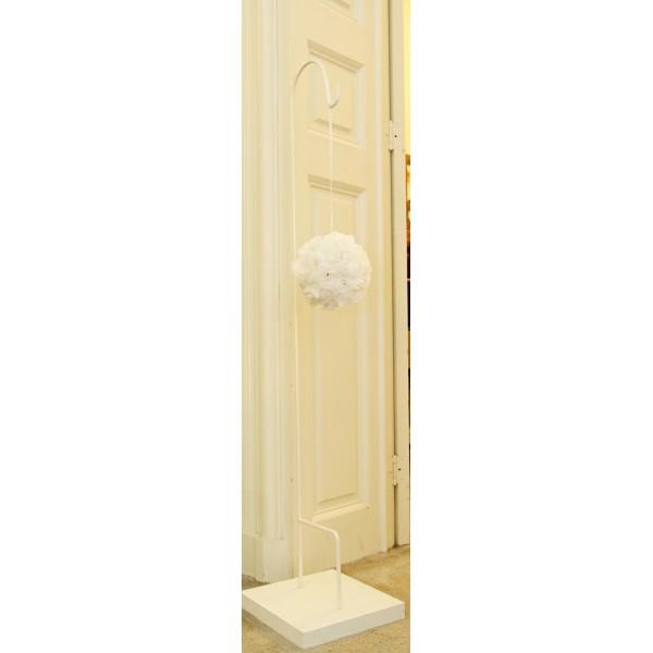 location piquet blanc crmonie laque mariage agrandir annul - Piquet Porte Lanterne Mariage
