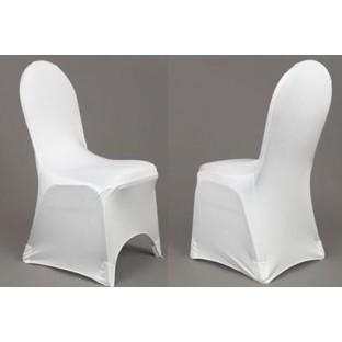Location Housse de chaise lycra blanc Belgique