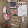 Pack photobooth mariage bohème fleurs