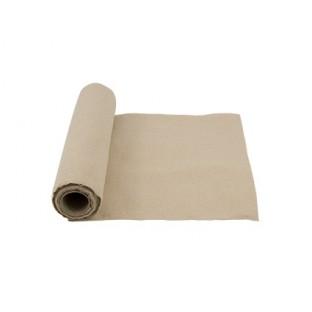 Chemin de table tissu lin naturel 28cm 5M