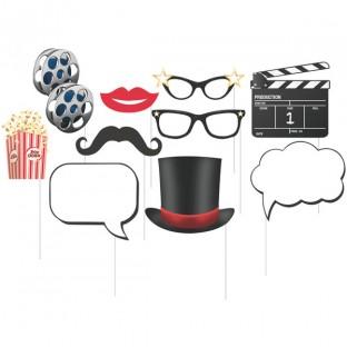 10 accessoires photobooth Cinéma