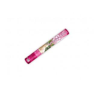 Canon à pétales de rose roses 40 cm