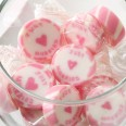 Bonbons mariage Just Married rose
