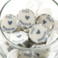 Bonbons mariage Just Married gris