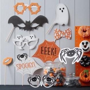 Halloween 10 accessoires photobooth