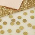 confettis rond dorés pailletés gold