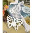 Cadeau invité - Marque page papillon métal