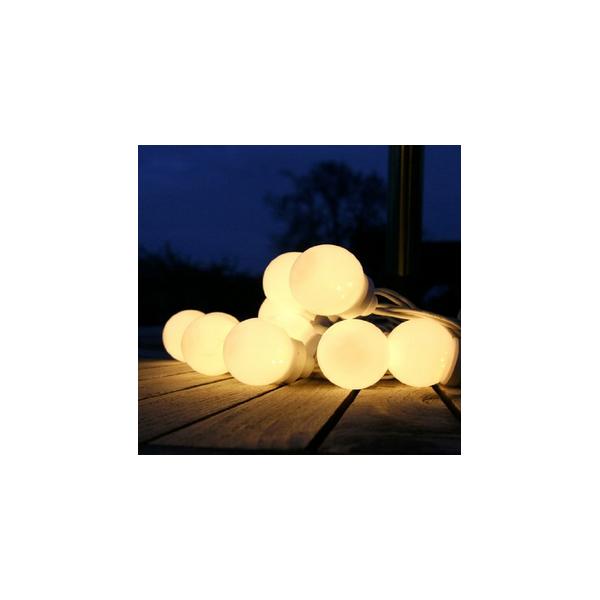 location lampes guirlande led blanche guinguette 5m ext rieur creative emotions. Black Bedroom Furniture Sets. Home Design Ideas