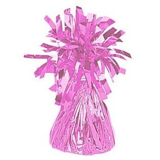 Poids pour ballons en alu rose festif