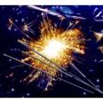 8 cierges magiques 25 cm étincelles bengale