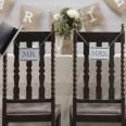Les 2 pancartes à suspendre Mr et Mrs