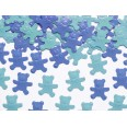 Confettis de table ourson bleu 15gr