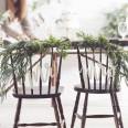 Suspensions de chaise Mr et Mrs en bois
