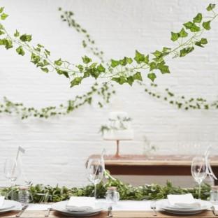 Guirlande botanique feuillage lierre (par 5)