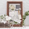 Photobooth mariage boho botanique