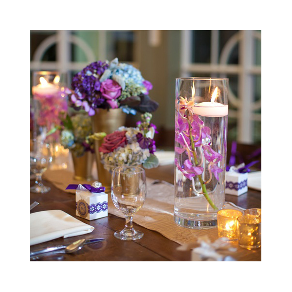 location vase cylindrique h 25cm centre de table. Black Bedroom Furniture Sets. Home Design Ideas