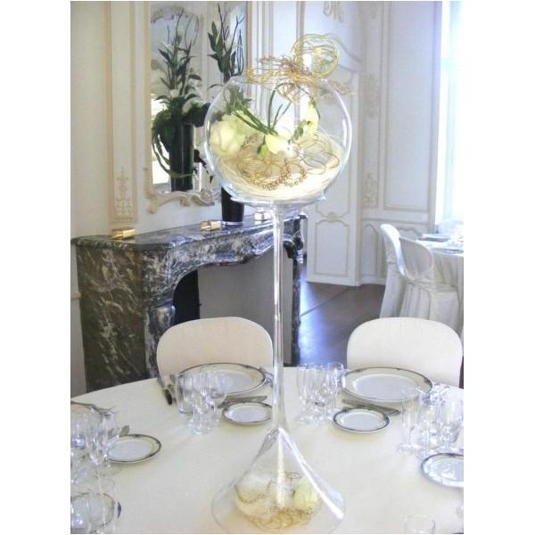 Vases martini location mariage - Vase en plastique pour centre de table ...