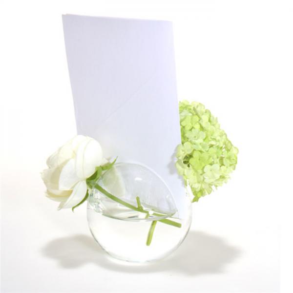 location vase boule d5cm soliflore porte menu centre de table creative emotions. Black Bedroom Furniture Sets. Home Design Ideas