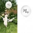 """Le ballon géant mariage """"Mrs"""""""