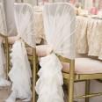 Location 2 noeuds blanc décor chaises mariés table d'honneur