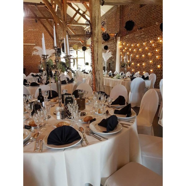 Location lampes guirlande led blanche guinguette - Guirlande guinguette blanche ...