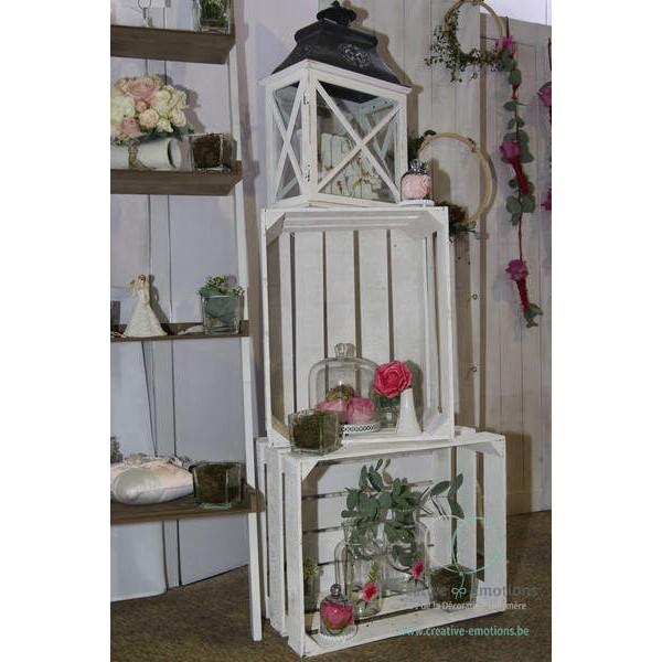 location grande caisse cageot en bois blanchi les. Black Bedroom Furniture Sets. Home Design Ideas