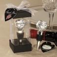 Bouchon bouteille cristal thème boule de golf