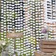 Arrière-Plan guirlande Fleurs Blanches backdrop mariage