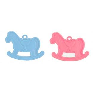 2 poids pour ballons cheval à bascule baby shower (10gr)