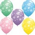25 Ballons Baby Shower nursery assortiment