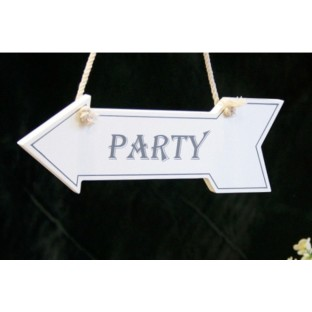 White Hanging Arrow Party