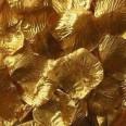 500 pétales de roses dorés métallisés OR gold