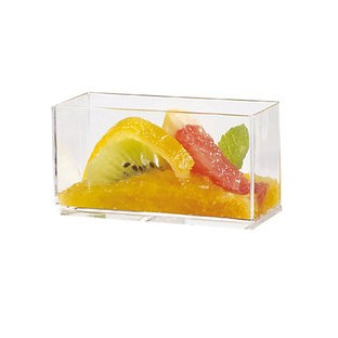 50 verrines empilable transparente amuse-bouche