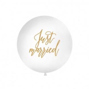 Le ballon géant mariage Just Married