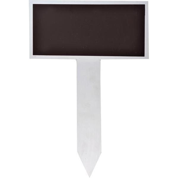 Location panneau piquet ardoise gris h45cm location deco for Location panneau publicitaire exterieur