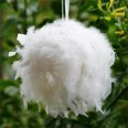 Location boule de plumes 30 cm blanc