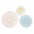 24 napperons papier flower vintage style dentelle
