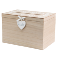 "Location urne mariage en bois ""wedding wishes"" ""Mr Mrs"""