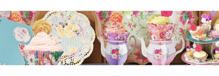 Tea party romantique