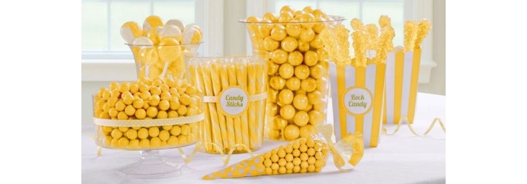 Candy bar jaune