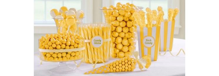 Candy bar jaune