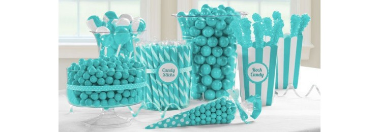 Candy bar turquoise