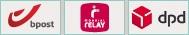 Bpost - Mondial Relay - DPD